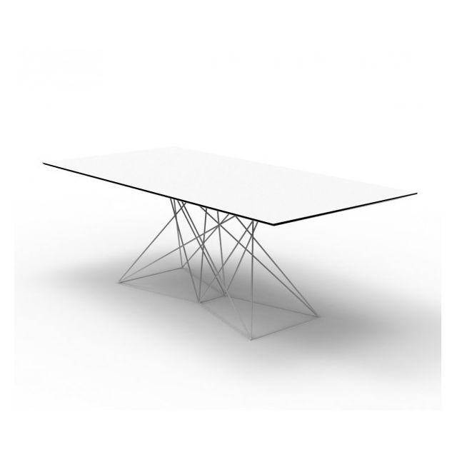 Vondom Faz - Table repas interieur/exterieur blanc