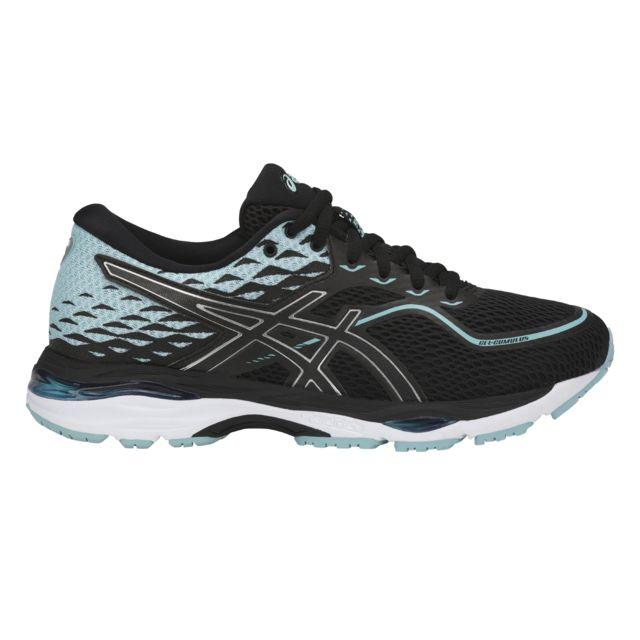 836bb8a3666 Asics - Chaussures femme Gel-Cumulus 19 noir bleu glacial blanc - 38 - pas  cher Achat   Vente Chaussures running - RueDuCommerce