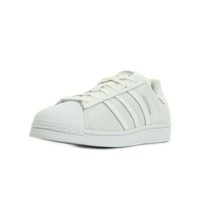 Adidas originals - Superstar Blanc, Argent - 37 1/3