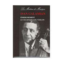 Van De Velde - Enseignement et technique du violon