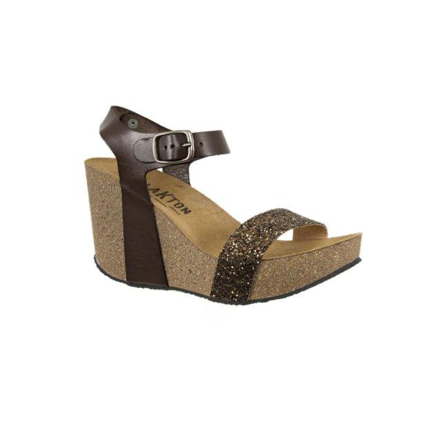 Plakton - sandales - nu pieds i kiss marron - pas cher Achat   Vente ... 1396eac0ab48