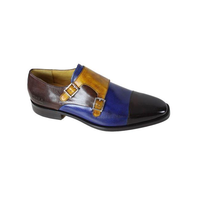 3a8c82bb55c21d Melvinhamilton - Chaussure en cuir Melvin & Hamilton Jeff 22 Bleu ...