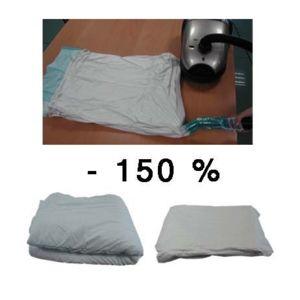 msv housse gain de place vide d 39 air pas cher achat vente housse de v tement rueducommerce. Black Bedroom Furniture Sets. Home Design Ideas
