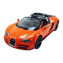 BUGATTI - Voiture véhicule miniature radiocommandé modèle officiel Veyron échelle 1/14 orange neuf 09