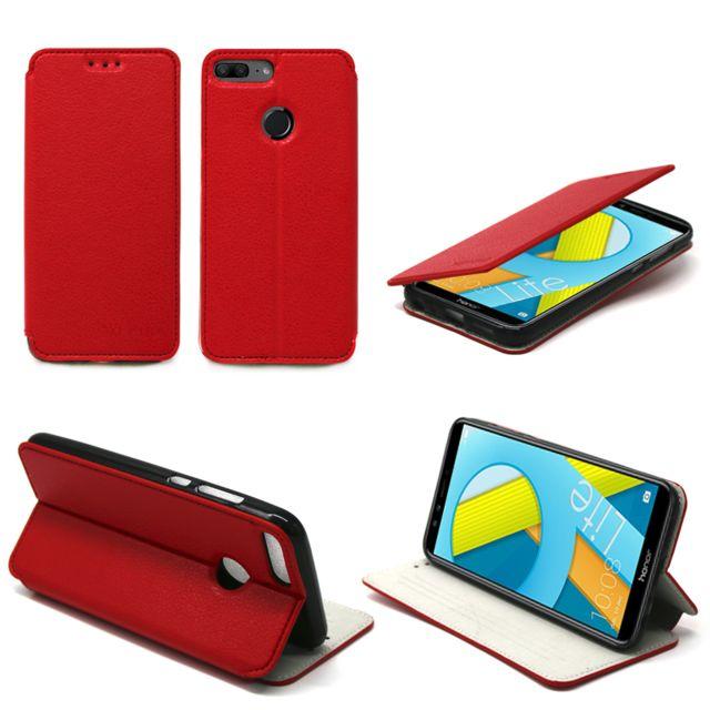 Xeptio - Huawei Honor 9 Lite etui rouge