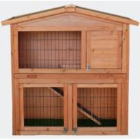 Bigb - Clapier grand espace Cabane pour lapin ou rongeur