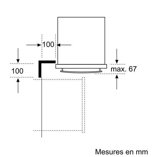 NEFF - four intégrable 57l 60cm a pyrolyse inox - b12p32n0