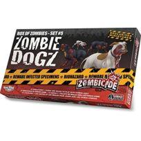 Guillotine Games - 331539 - Zombicide - Box Of Zombies Set , 5 - Zombie Dogz