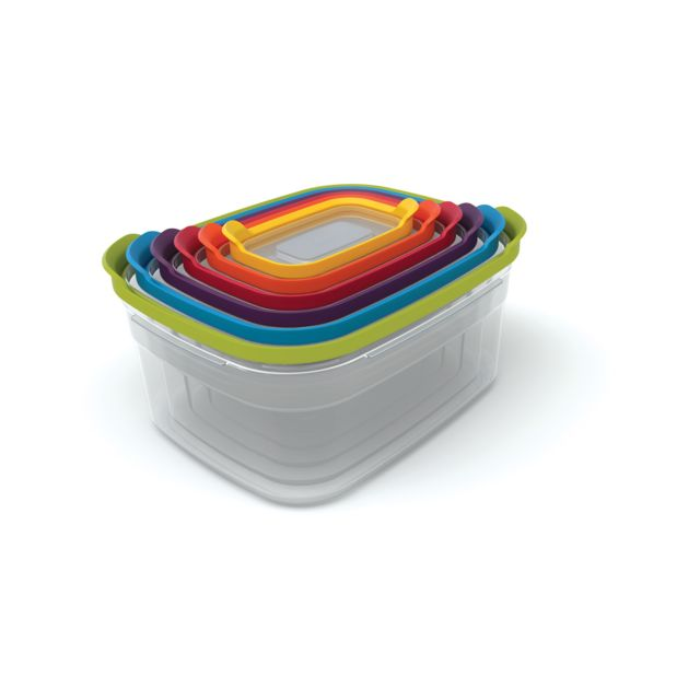 JOSEPH JOSEPH Nest Storage Set 6 boîtes de conservation - multicolore