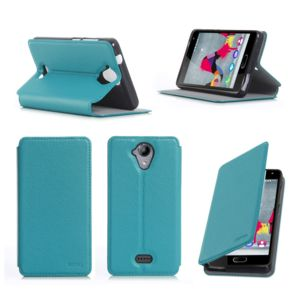 xeptio etui wiko ufeel lite 4g 2016 turquoise luxe ultra slim cuir style avec stand housse. Black Bedroom Furniture Sets. Home Design Ideas