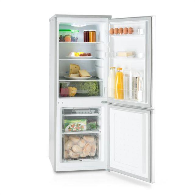 KLARSTEIN Bigpack Combi réfrigérateur et congélateur 160 litres A+ 42 dB argent