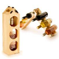 Totalcadeau - Porte-bouteille et range-bouteilles multiformes