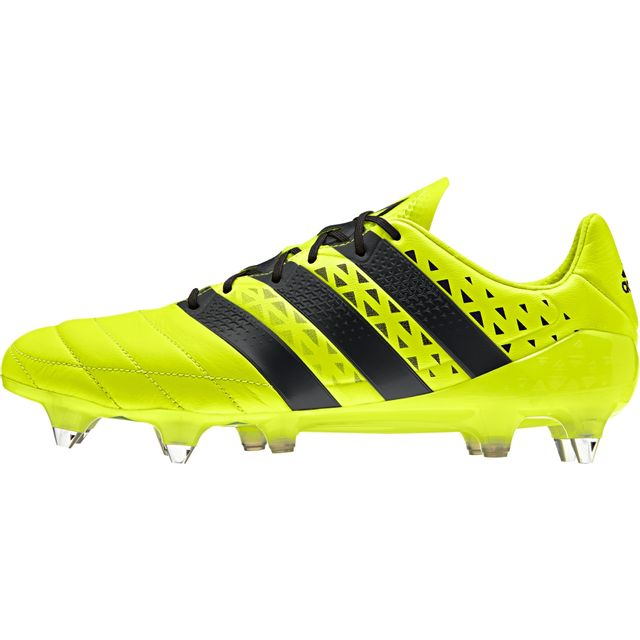 Adidas Chaussures Ace 16.1 Cuir Sg pas cher Achat