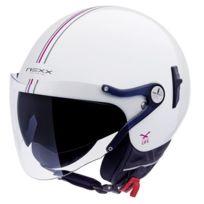 NEXX - X60 Vision Flex Bastille Blanc Rose