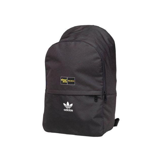 dd9040d6f56ef Adidas - Sac à Dos Accessoires Backpack Noir - pas cher Achat   Vente Sacs  à dos - RueDuCommerce