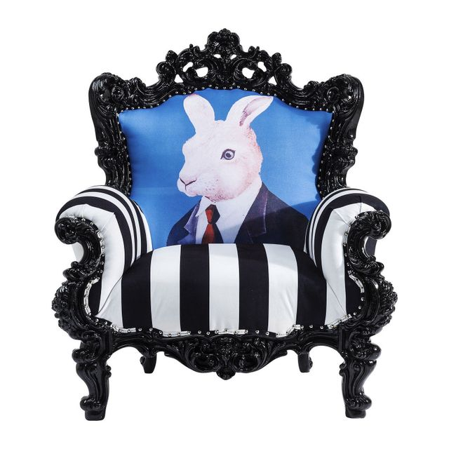 Karedesign Fauteuil Mink Mr. Rabbit Kare Design