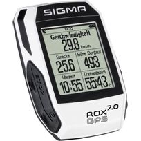Sigma Sport - Rox 7.0 - Compteur sans fil - blanc