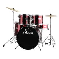 Xdrum - Clssic Batterie Set Complet Rouge