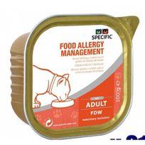 Dechra - Pâtée Specific pour chats Fdw Hypoallergénique Management 7 boîtes 100 g
