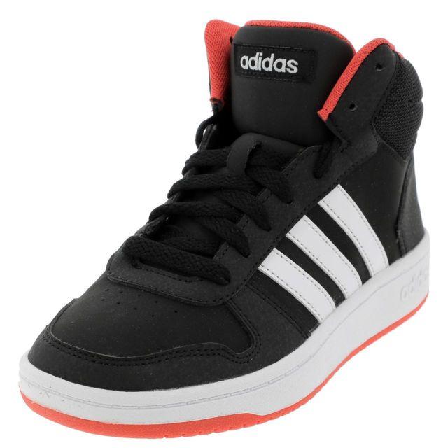 036399ff64827 Adidas - Chaussures mid mi montantes Adidas Hoops mid 2 nr jr Noir 35249