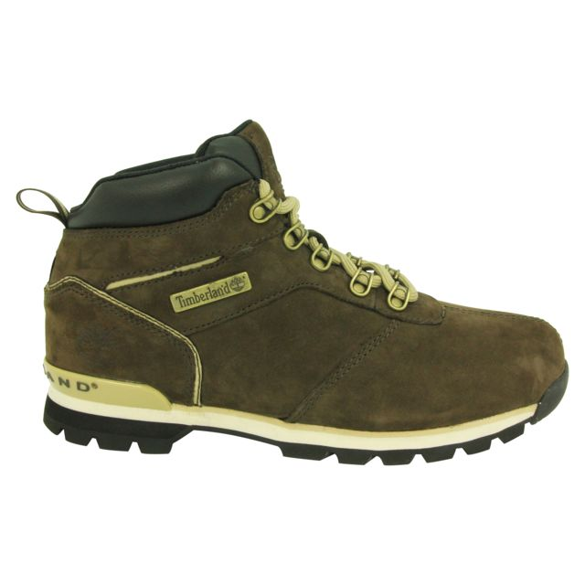 Timberland - Splitrock 2 Hiker Chaussures Bottines Homme Cuir Suede - pas  cher Achat   Vente Boots homme - RueDuCommerce df0636c9a4af