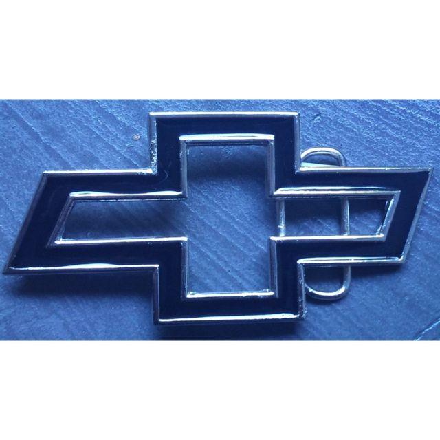 d9a7094452f6 Universel - Boucle de ceinture chevrolet logo noir ajouré homme femme