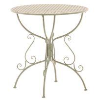 table ronde jardin - Achat table ronde jardin pas cher - Rue du Commerce