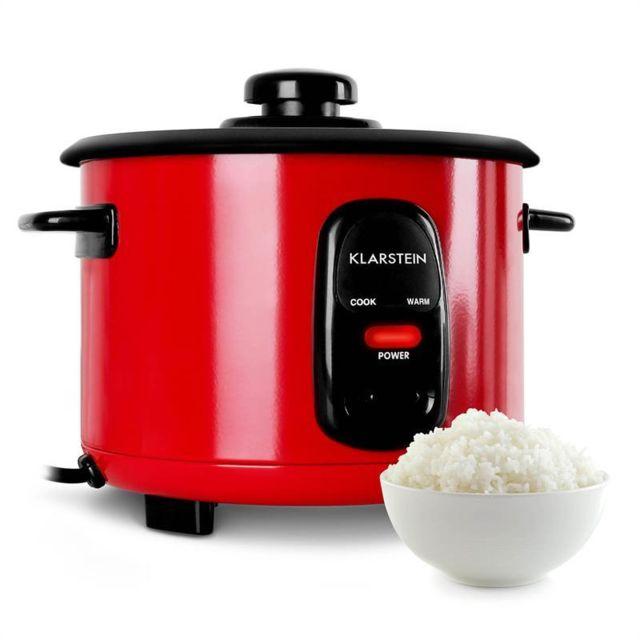 KLARSTEIN Osaka 1,5 Cuiseur à riz 500W 1,5L fonction maintien au chaud - rouge