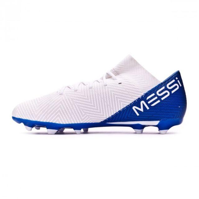 adidas Nemeziz Messi 18.3 FG BleuBlanc Junior