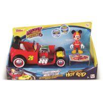Imc - Véhicule + figurine Mickey top départ - modèle aléatoire - livraison à l'unité