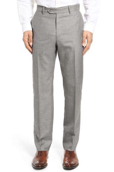 kebello pantalon lin gris pas cher achat vente pantalon homme rueducommerce. Black Bedroom Furniture Sets. Home Design Ideas