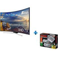 Samsung - TV LED 49'' 124 cm UE49MU6220WXXN + Nintendo Classic Mini : Super NintendoTM Entertainment System