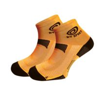 Bv Sport - Socquettes Scr One Oranges Fluos Chaussettes Running