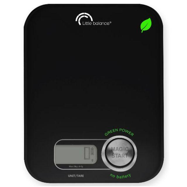 LITTLE BALANCE balance de cuisine électronique 5kg - 1g noire - 8197