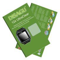 Disagu - Adidas miCoach Smart Run Film de protection d'écran - 12x Ultra Clear pour Adidas miCoach Smart Run