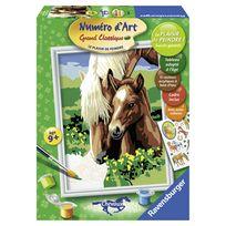 Ravensburger - Numero art moyen chevaux tendres jument