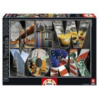 Educa Borras - Puzzle 1000 pièces : Collage de New-York