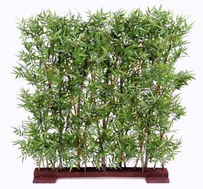 artificielflower haie artificielle bambou oriental feuillage dense int rieur vert. Black Bedroom Furniture Sets. Home Design Ideas