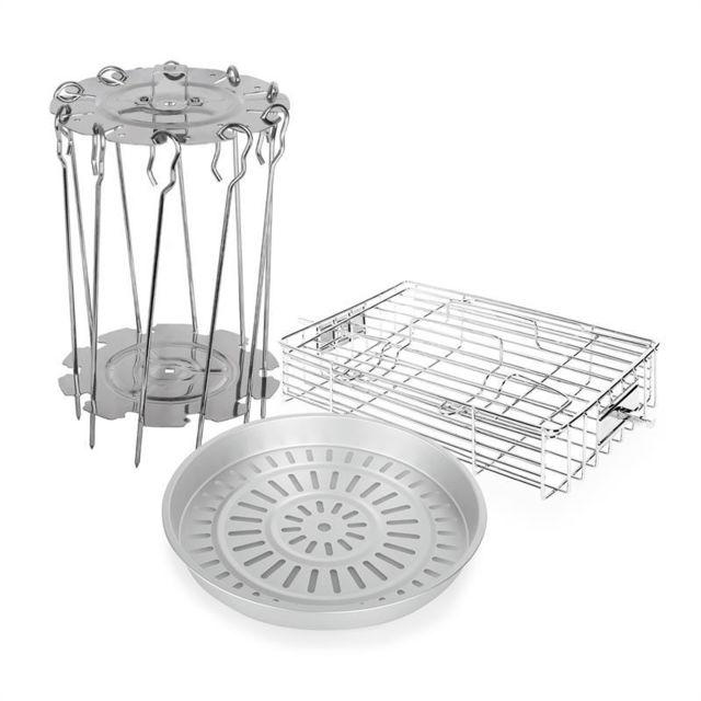 KLARSTEIN VitAir Set d'accessoires 3 éléments en inox & aluminium moulé
