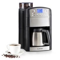 KLARSTEIN - Aromatica Thermos machine à café cafetière moulin verseuse thermos Aroma+ inox