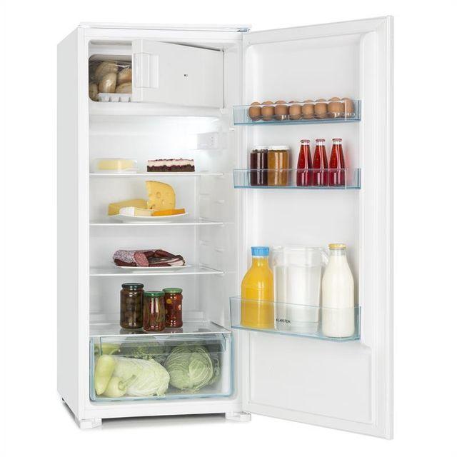 KLARSTEIN Coolzone 186 Réfrigérateur congélateur encastrable 171l / 15l - A