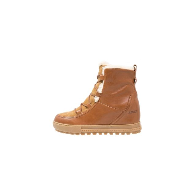 Aigle Boots Après ski Laponwarm Camel Marron Caramel pas