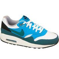 Nike - Air Max 1 555766-114 Femme Baskets Bleu
