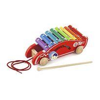 Viga Toys - 0241 - Percussion - MÉTALLOPHONE- Voiture De Courses À Tirer