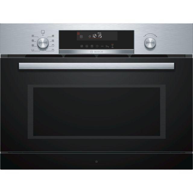 Bosch micro-ondes gril encastrable 36l 1000w inox - coa565gs0