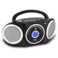 Soundmaster - Rcd5000SW Boombox Fm Cd Bluetooth Nfc Mp3 piles -noir
