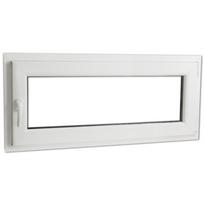 Rocambolesk - Superbe Fenêtre oscillo-battant en Pvc Poignée sur la gauche 900 x 400 mm Neuf
