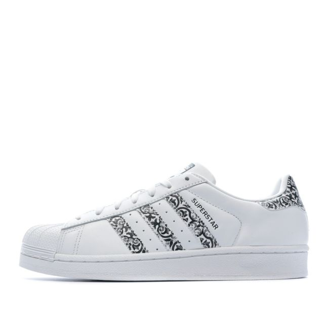 Adidas Superstar Baskets blanches femme Multicouleur 41 1
