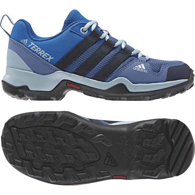 43ad82c581627 Adidas - Chaussures Ax2R bleu gris bleu nuit gris cendre - pas cher Achat   Vente  Chaussures grande rando - RueDuCommerce