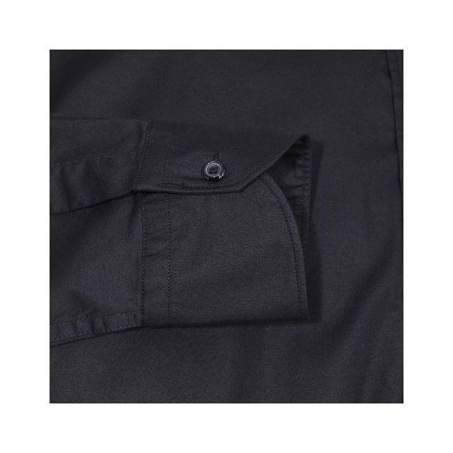Replay - Chemise cintrée en coton stretch noir